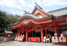 Aoshima Island Main Shrine Royalty Free Stock Images
