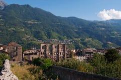 Aosta, η κοιλάδα Aosta, Ιταλία, Ευρώπη Στοκ Εικόνα