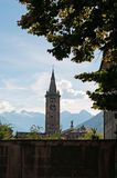 Aosta, η κοιλάδα Aosta, Ιταλία, Ευρώπη Στοκ Φωτογραφία