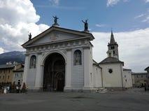Aosta, Ιταλία στοκ εικόνες με δικαίωμα ελεύθερης χρήσης