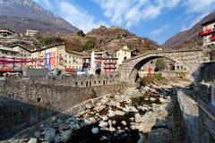 Aosta Ιταλία του pont-Άγιος-Martin ιστορικό καρναβάλι †«Pont Άγιος Martin Valle δ `, στις 27 Φεβρουαρίου 2017 Στοκ εικόνες με δικαίωμα ελεύθερης χρήσης