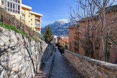Aosta, Ιταλία Στοκ Εικόνες