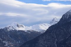 Aosta Fotografia Stock