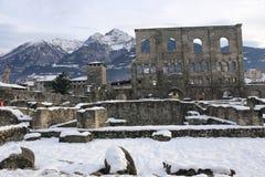 Aosta Obraz Stock