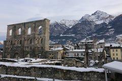 Aosta Stock Foto