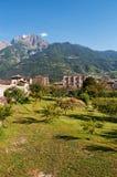 Aosta, the Aosta Valley, Italy, Europe Stock Images
