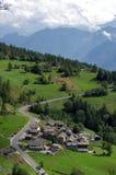 Aosta dolina Fotografia Royalty Free