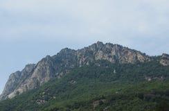 Aosta dolina w Włochy fotografia stock