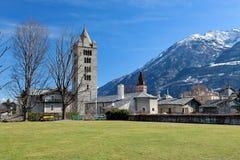Aosta, Italia Immagini Stock Libere da Diritti