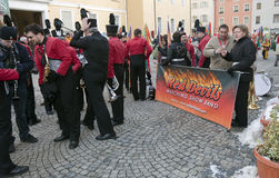 Aosta Mountain Carnival Stock Photo