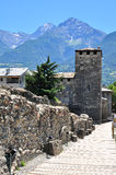 Aosta old town Stock Image