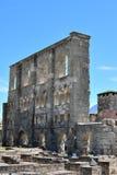 Aosta roman ruins Royalty Free Stock Image