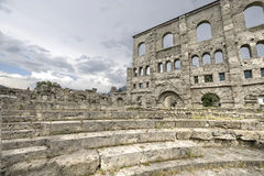 Aosta - Roman Theatre Royalty Free Stock Images
