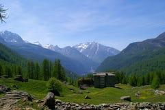 Aosta-Vallée Photographie stock