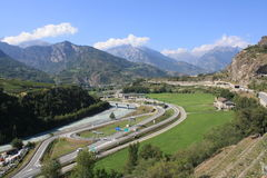 Aosta Valley Stock Image
