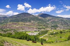 Aosta Valley. Italy Royalty Free Stock Image