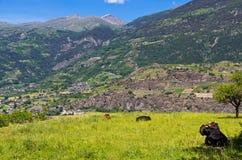 Aosta Valley. Italy Royalty Free Stock Photos