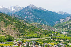 Aosta Valley. Italy Royalty Free Stock Images