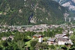 Aosta valley, Morgex Stock Photo