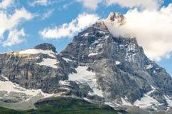 Aosta Valley, Mount Cervino peak Stock Photography