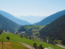Aosta Valley mountains Stock Images