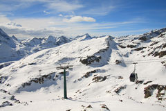 Aosta valley Royalty Free Stock Photo