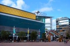 Aotea fyrkant i Auckland, Nya Zeeland Royaltyfria Bilder