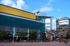 Aotea Square in Auckland, New Zealand Royalty Free Stock Images