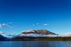 Aotearoa, land van de lange witte wolk, Nieuw Zeeland stock foto's