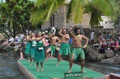 Aotearoan dance at the Polynesian Cultural Center Stock Photos