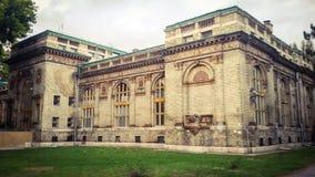 Aoubt efectuado de la foto un edificio viejo imagenes de archivo