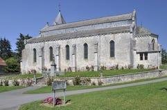 aoust η εκκλησία των Αρδεννών &epsilo Στοκ φωτογραφία με δικαίωμα ελεύθερης χρήσης