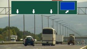 Aoutoban trafiktimelapse för huvudväg