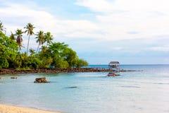 Aownoi-Bucht stockbild