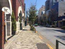 Aoyama,东京高级区域  库存图片