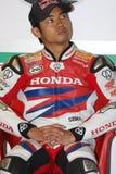 aoyama cbr1000rr Hiroshi Honda Στοκ εικόνα με δικαίωμα ελεύθερης χρήσης