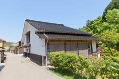 Aoyama Residence van Iwami Ginzan, Omori, Japan Lange blootstelling Royalty-vrije Stock Foto
