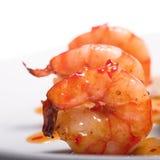 Apéritif avec des crevettes Image libre de droits