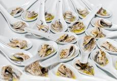 Apéritif d'anchois Photographie stock