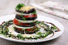 Apéritif d'aubergine photographie stock