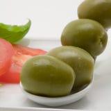 Apéritif olive Photo libre de droits