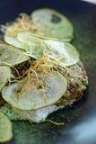Apéritif végétarien gastronome créatif Photographie stock libre de droits