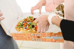 Apéritifs d'idées de nourriture de mariage image stock