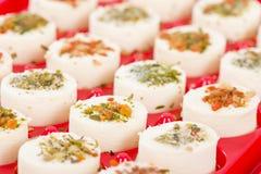 Apéritifs de fromage Photo libre de droits