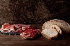 Apéritifs de viande Photos libres de droits