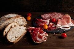 Apéritifs de viande Photo stock