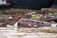 Após as inundações Imagens de Stock