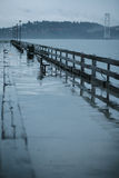 Após a chuva em San Francisco Foto de Stock
