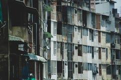 Após a construção velha em Banguecoque imagens de stock royalty free