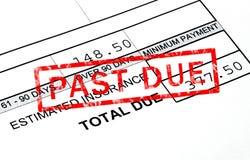 Após - a dívida ilustração do vetor